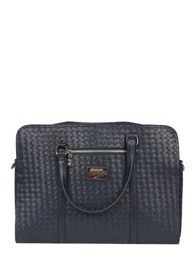 Versace Laptop /Evrak Çantası Lacivert